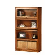 Eagle Furniture Manufacturing Classic Oak Promo Lawyer 58'' Barrister Bookcase; Concord Cherry
