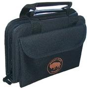 Platt Buffalo Case Company Sewn Tool Case in Black:7.38 x 10.5 x 2