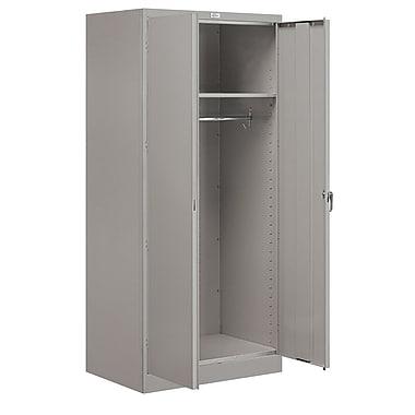 Salsbury Industries 78''H x 36''W x 24''D 2 Door Storage Cabinet; Gray