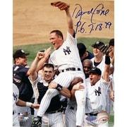 Steiner Sports David Cone Autographed ''PG 7-18-99'' Memorabilia