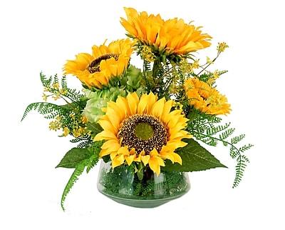 Creative Displays, Inc. Sunflowers and Hydrangea Bouquet