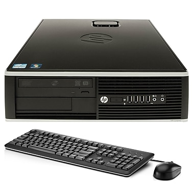 HP - PC de table Compaq 8100 SFF remis à neuf, 2,66GHz Intel i5, RAM 8Go, DD 1To, Windows 10 Pro, graveur DVD, anglais