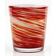 Impulse! Galaxy Rock Glass (Set of 4); Red