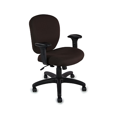 TrendSit Spin Mid-Back Desk Chair; Amber 100pct Recycled