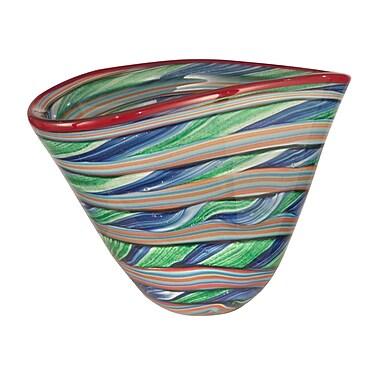 Dale Tiffany Striped Decorative Bowl