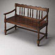 Butler Masterpiece Wood Bench; Plantation Cherry
