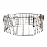 Iconic Pet 24'' 8 Panel Portable Wire Dog/Cat Pen