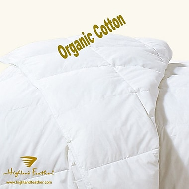 Highland Feather Budapest Down Comforter; Queen