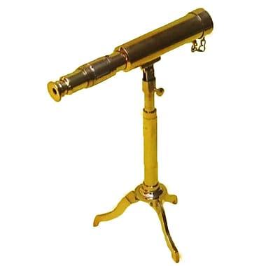 EC World Imports Reproduction Miniature Antique Replica Decorative Telescope