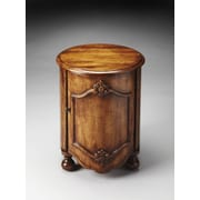 Butler Kiley End Table; Dark Toffee
