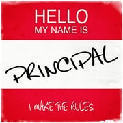 Graffitee Studios Hello My Name Is Principal Textual Art on Wrapped Canvas