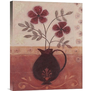 Global Gallery Fleur De Lys I by Jennifer Carson Painting Print on Wrapped Canvas
