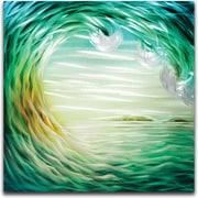 MetalArtscape Rip Curl Graphic Art Plaque