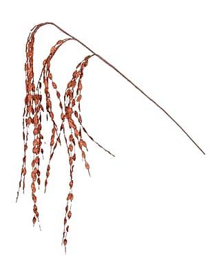 Fantastic Craft Glitter Leaf Spray; Copper