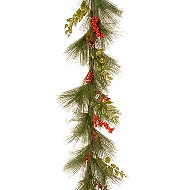 National Tree Co. Mixed Bristle Pine Garland