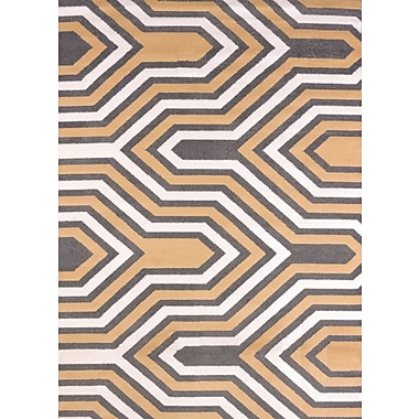 United Weavers of America Modern Texture Cupola Harvest Area Rug; Rectangle 7'10'' x 10'6''
