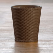 LaMont Carter Waste Basket; Chocolate
