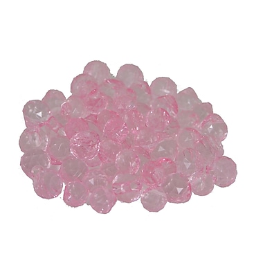 Fantastic Craft 60 Piece Mixed Crystal Berry Set; Pink