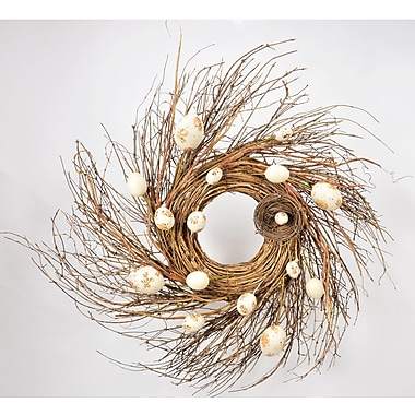 Fantastic Craft Egg Wreath; 25'' W x 25'' D