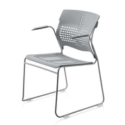New Spec Arm Chair; Grey