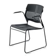 New Spec Arm Chair; Black