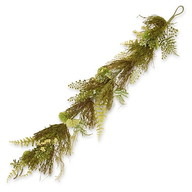 National Tree Co. Fern and Lavender Garland