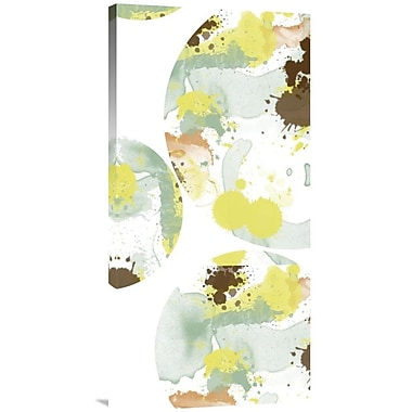 Global Gallery Bubbles by Jan Weiss Painting Print on Wrapped Canvas
