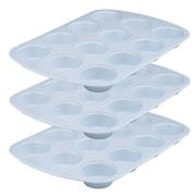 Range Kleen Cerama Bake 12 Cup Muffin Pan (Set of 3)