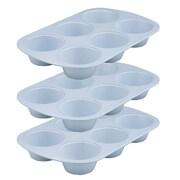 Range Kleen Cerama Bake 6 Cup Muffin Pan (Set of 3)