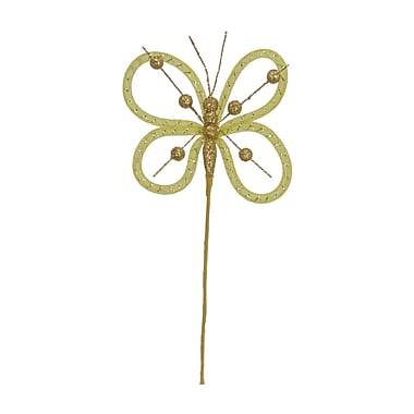 Fantastic Craft Butterfly Spray; Yellow