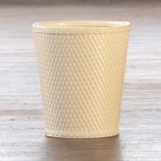 LaMont Carter Plastic Trash Can; Linen
