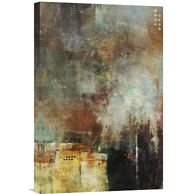 Global Gallery Skyline II by Kay Daichi Painting Print on Wrapped Canvas