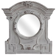 Legion Furniture Antique White Resin Mirror