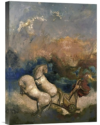 Global Gallery Charioteer by Odilon Redon Painting Print on Wrapped Canvas