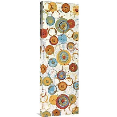 Global Gallery Tutti Frutti I by Ricki Mountain Graphic Art on Wrapped Canvas
