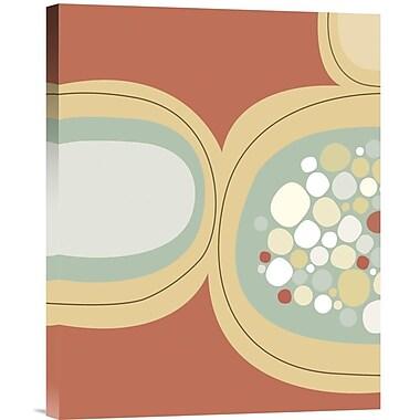 Global Gallery Sea Pod II by Jenn Ski Graphic Art on Wrapped Canvas