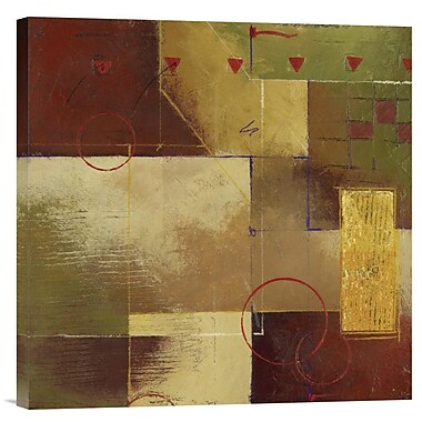 Global Gallery Axis 145 by Fischer-Warnica Graphic Art on Wrapped Canvas