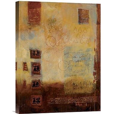 Global Gallery Count Of 8 #II by Ann Baldwin Painting Print on Wrapped Canvas