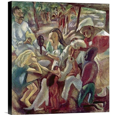 Global Gallery Good Samaritan by Jules Pascin Painting Print on Wrapped Canvas