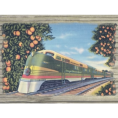 Graffitee Studios Vintage Tropical Pairing Treasures Graphic Art on Wrapped Canvas