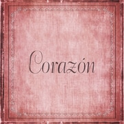 Graffitee Studios The ABCs of Love Corazon (Heart) Textual Art on Wrapped Canvas