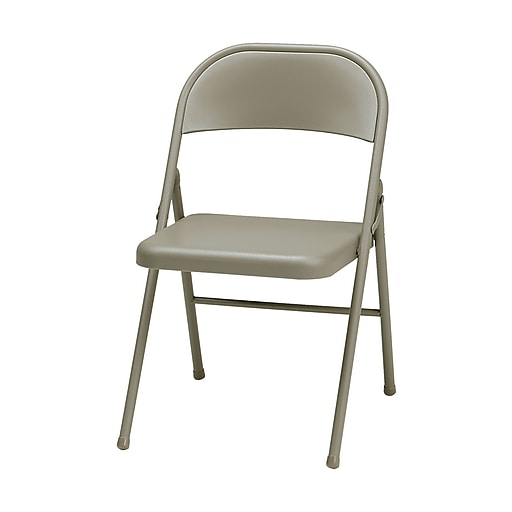 Sudden Comfort Steel Folding Chair, Chicory Lace