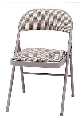 Sudden Comfort Deluxe Metal & Fabric Folding Chair, Chicory Lace & Motif