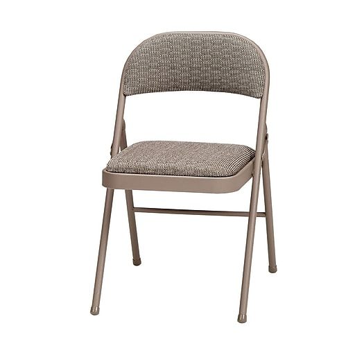Sudden Comfort Deluxe Metal & Fabric Folding Chair; Chicory Lace & Courtyard