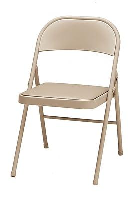 SuddenComfort Samsonite Metal U0026 Vinyl Folding Chair; Brown. Rollover Image  To Zoom In. Https://www.staples 3p.com/s7/is/