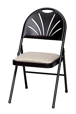 SuddenComfort Metal & Plastic High Back Chair, Black Lace & Zuni