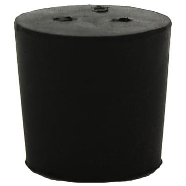 Midland Scientific Inc. Rubber Stopper with 2-holes, Size 5, 25/lb ( Model No. R6240-5 LB)