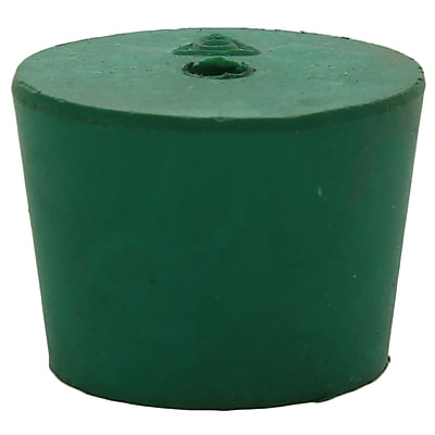 Midland Scientific Inc. Neoprene Stopper with Hole, Size 6, 20LB