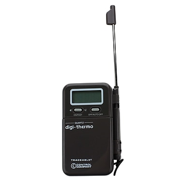 Traceable914mm Digital Thermometer, -200 to 1300 deg. C