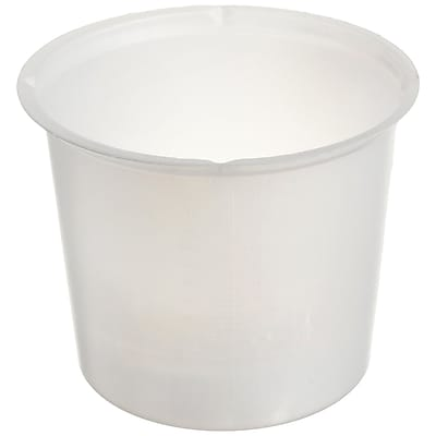 Eagle Thermoplastics, Inc Beaker, 20ml, Disposable, 500/Case